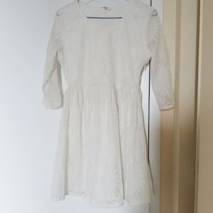 White summer dress in size small (2 for 30)